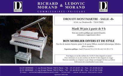 Vente à Drouot-Montmartre