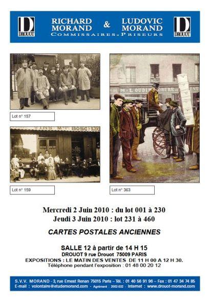 Cartes postales anciennes, numismatique et philatelie
