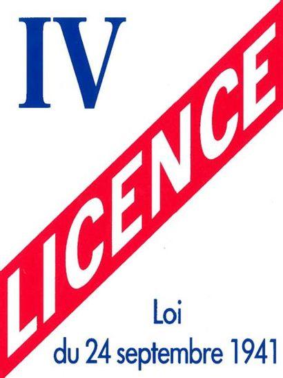VENTE ACTIFS INCORPORELS : LICENCE IV