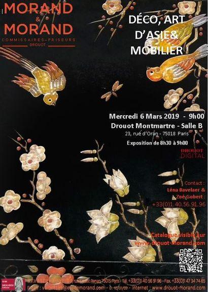 VENTE DÉCO, ART D'ASIE & MOBILIER
