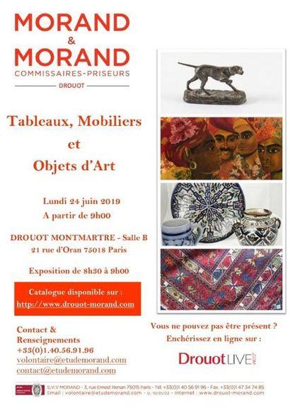 TABLEAUX, MOBILIER & OBJETS D'ART - PARTIE 1