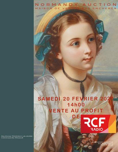 VENTE AU PROFIT DE LA RADIO RCF