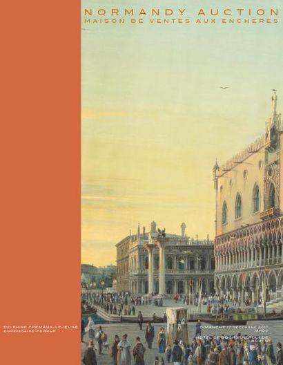 VENTE DE PRESTIGE DE NOEL:MINIATURES & TABLEAUX ANCIENS TABLEAUX MODERNES & ECOLE NORMANDE MONNAIES & MEDAILLES ARGENTERIE, BIJOUX, VINTAGE & VINS CERAMIQUES & VERRERIES ARTS RELIGIEUX MOBILIER & OBJETS D'ART