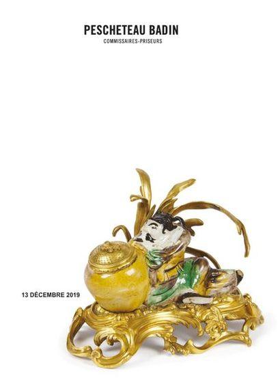 VENTE DESSINS & TABLEAUX ANCIENS - OBJETS D'ART & D'AMEUBLEMENT - ARTS ET PORCELAINES D'ASIE