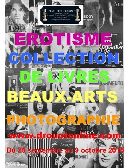 Collection de livres - Beaux-Arts - photographie - érotisme