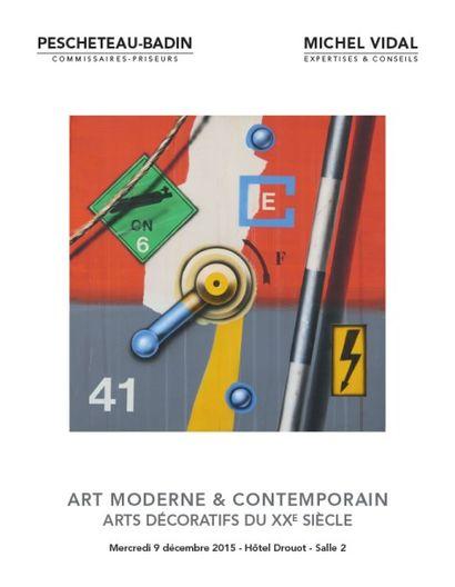 ART MODERNE ET CONTEMPORAIN - ARTS DÉCORATIFS DU XXe SIECLE à 11h00 et 14h00