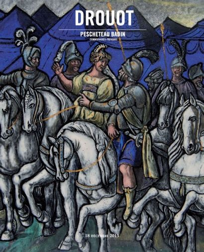 ARTS D'ASIE - DESSINS ET TABLEAUX ANCIENS - OBJETS D'ART ET MOBILIER - TAPIS