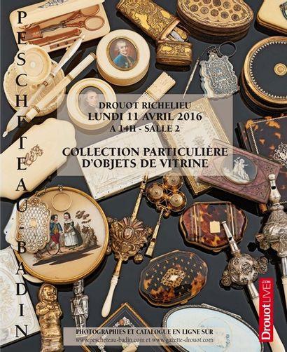 COLLECTION PARTICULIÈRE D'OBJETS DE VITRINE - VINS - LIVRES - POUPÉES - TABLEAUX - OBJETS D'ART - MOBILIER