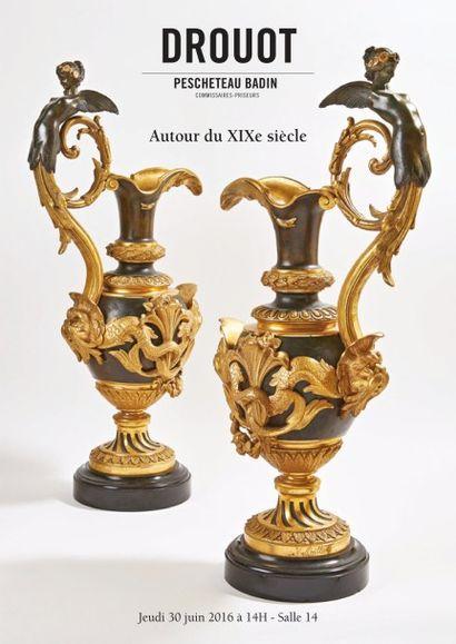 ARCHEOLOGIE -<br> TABLEAUX OBJETS D'ART ET D'AMEUBLEMENT SUR LE THEME DU XIXE SIECLE ET DE L'EMPIRE-<br>  BIJOUX ORFEVRERIE-<br> OBJETS DE VITRINE