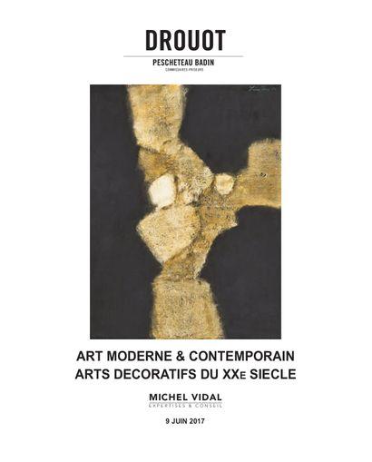 ART MODERNE ET CONTEMPORAIN - ARTS DÉCORATIFS DU XXe SIECLE