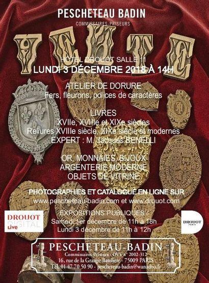 Atelier de Dorure - Livres - Cadres - Estampes - Or - Monnaies - Bijoux - Objets de Vitrine - Argenterie Moderne - Céramiques - Longwy