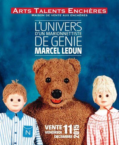 L'Univers de Marcel Ledun, marionnettiste de génie<br>des Pajot-Walton's à Bonne nuit les petits