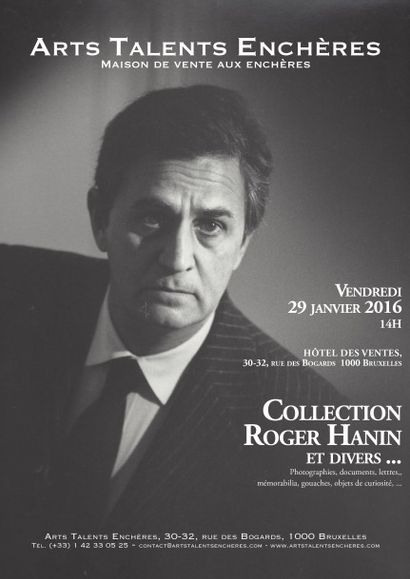 Collection Roger Hanin et divers