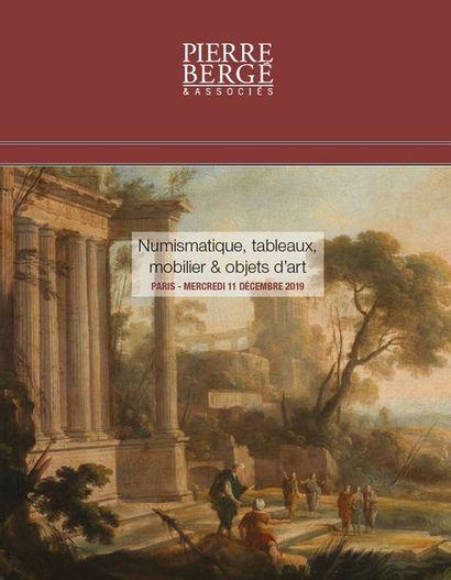 NUMISMATIQUE - DESSINS, TABLEAUX, MOBILIER & OBJETS D'ART