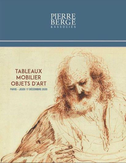 TABLEAUX - MOBILIER & OBJETS D'ART - CATALOGUEE