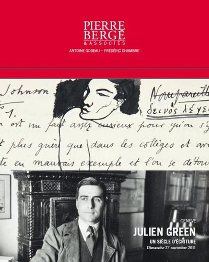 JULIEN GREEN Un siècle d'écriture