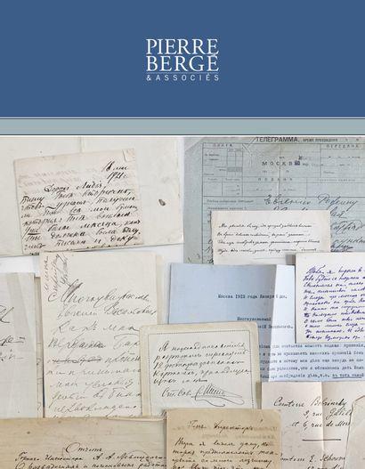 Vente ONLINE : Lettres, Photos & Livres provenant de divers fonds