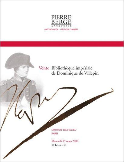 Bibliothèque impériale de Dominique de Villepin