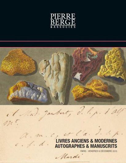 Livres anciens et modernes - Autographes et manuscrits