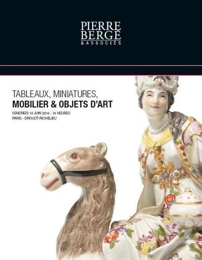 TABLEAUX – MOBILIER & OBJETS D'ART