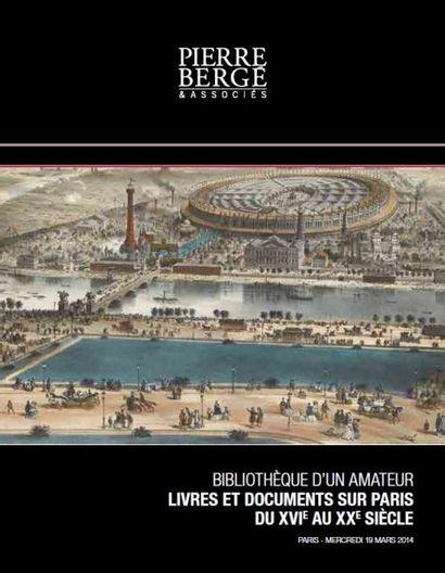 Livres et documents sur Paris du XVI e au XXe siècle