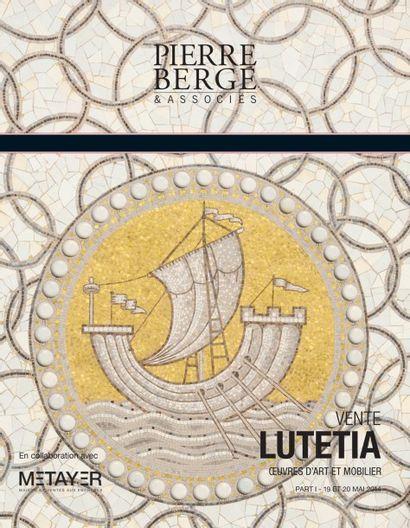 Vente Lutetia Part I <br> OEUVRES D'ART ET MOBILIER