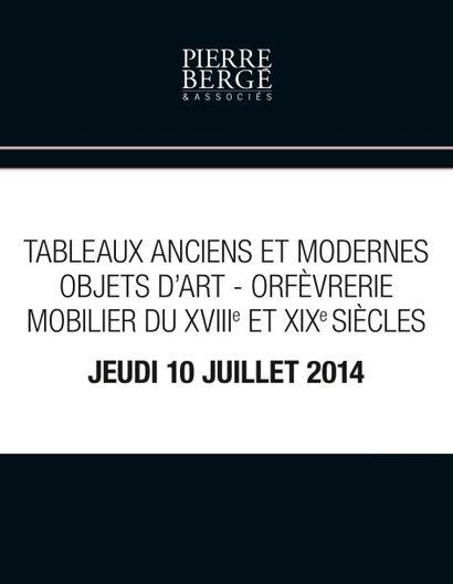 Tableaux anciens et modernes - Objets d'art - orfèvrerie - Mobilier des XVIIIe et XIXe siècles