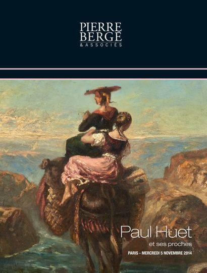 PAUL HUET et ses proches<br>Livres, gravures, dessins, tableaux et aquarelles