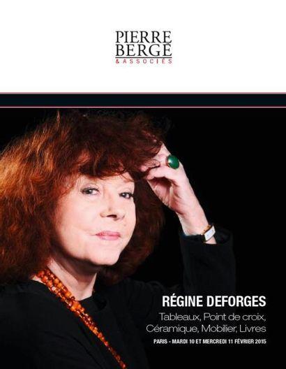 PART 1 : Régine Deforges<br>Tableaux, Point de croix, Céramique, Mobilier
