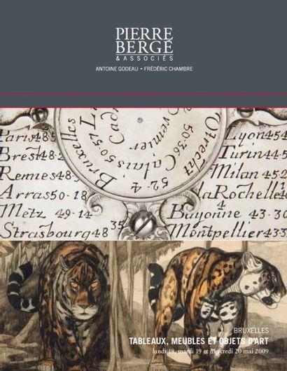 TABLEAUX ET DESSINS, MEUBLES, OBJETS D'ART, COLLECTION DE BRONZES