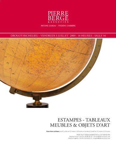 Meubles et Objets d'art (vente non cataloguée)