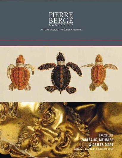 Mobilier - objets d'art cataloguée  « Tortues du Monde, une collection »