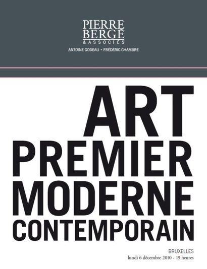 Art premier et moderne et contemporain