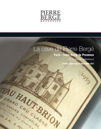 La cave de Pierre Bergé PARIS - St Remy de Provence et à divers amateurs
