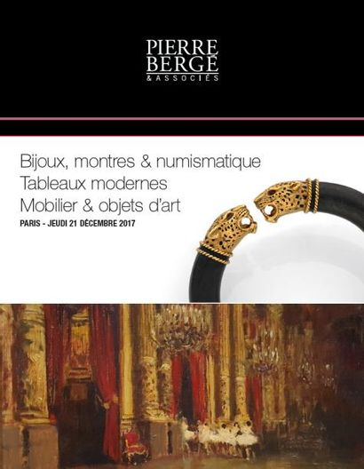 Bijoux, montres & numismatique - Tableaux Modernes - Mobilier & Objets d'art