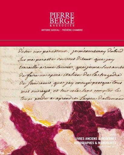 LIVRES ANCIENS & MODERNES - AUTOGRAPHES & MANUSCRITS