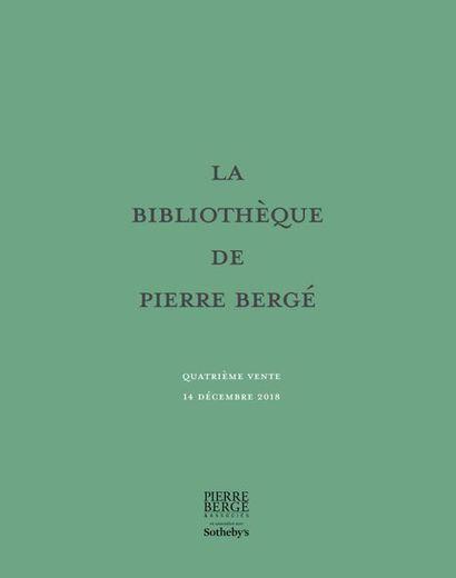 Vente débute à 15h30 - Bibliothèque de Pierre Bergé - Vente en association avec Sotheby's
