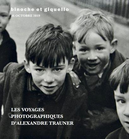 LES VOYAGES PHOTOGRAPHIQUES D'ALEXANDRE TRAUNER