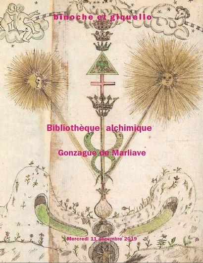 Bibliothèque alchimique - Gonzague de Marliave