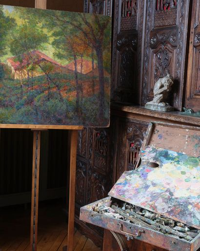 furniture, decorative arts, paintings, from Atelier of Victor CHARRETON