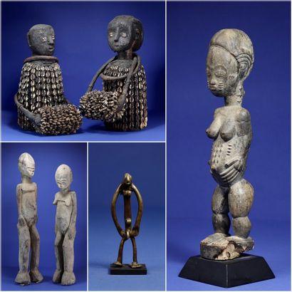 ARTS D'AFRIQUE - COLLECTIONS BORDIER ET LANCI