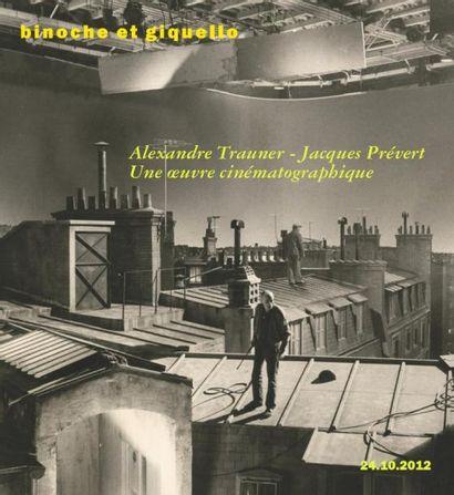 Cinéma : Prévert/Trauner, une amitié complice