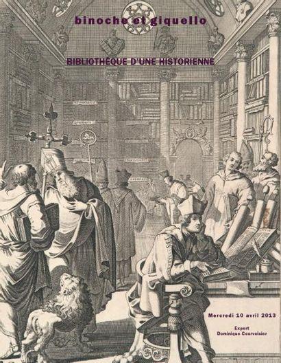 BIBLIOTHÈQUE D'UNE HISTORIENNE
