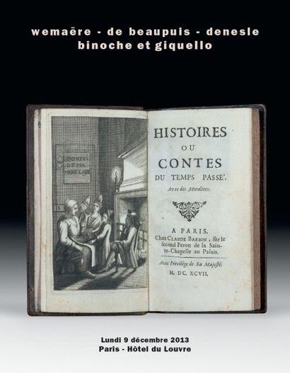 Edition originale des contes de Perrault