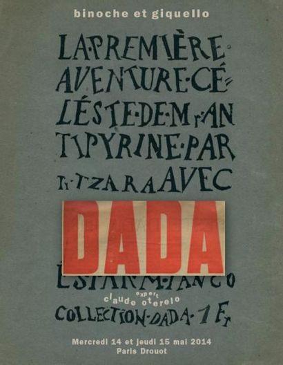 DADA SURRÉALISME - AVANT-GARDES - ART ET LITTÉRATURE DU XXe SIÈCLE Manuscrits, Livres, Photographies, Revues, Dessins et Tableaux