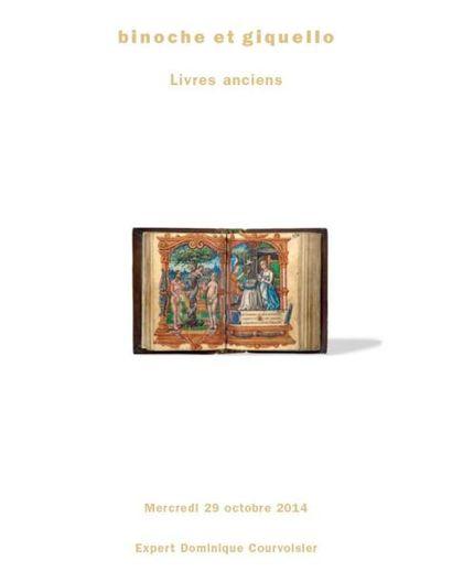 LIVRES ANCIENS MANUSCRITS