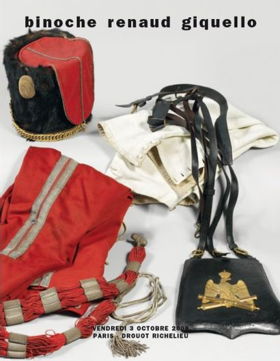 COLLECTION D'OBJETS MILITAIRES