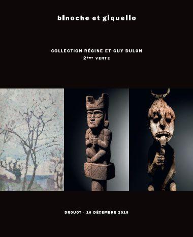 Collection Régine et Guy Dulon - 2eme vente - OEUVRES POST-IMPRESSIONNISTES, ART PRÉCOLOMBIEN ART INDONÉSIEN