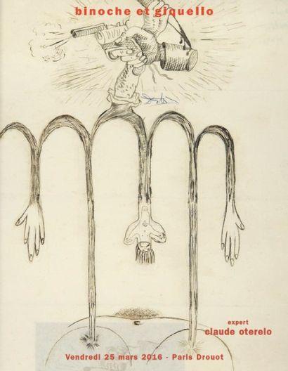 AVANT-GARDES DU XXe SIÈCLE - Editions originales – Photographies – Revues – Œuvres graphiques – Manuscrits
