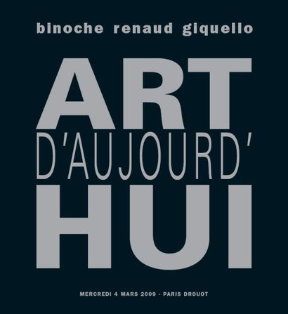 ART D'AUJOURD'HUI